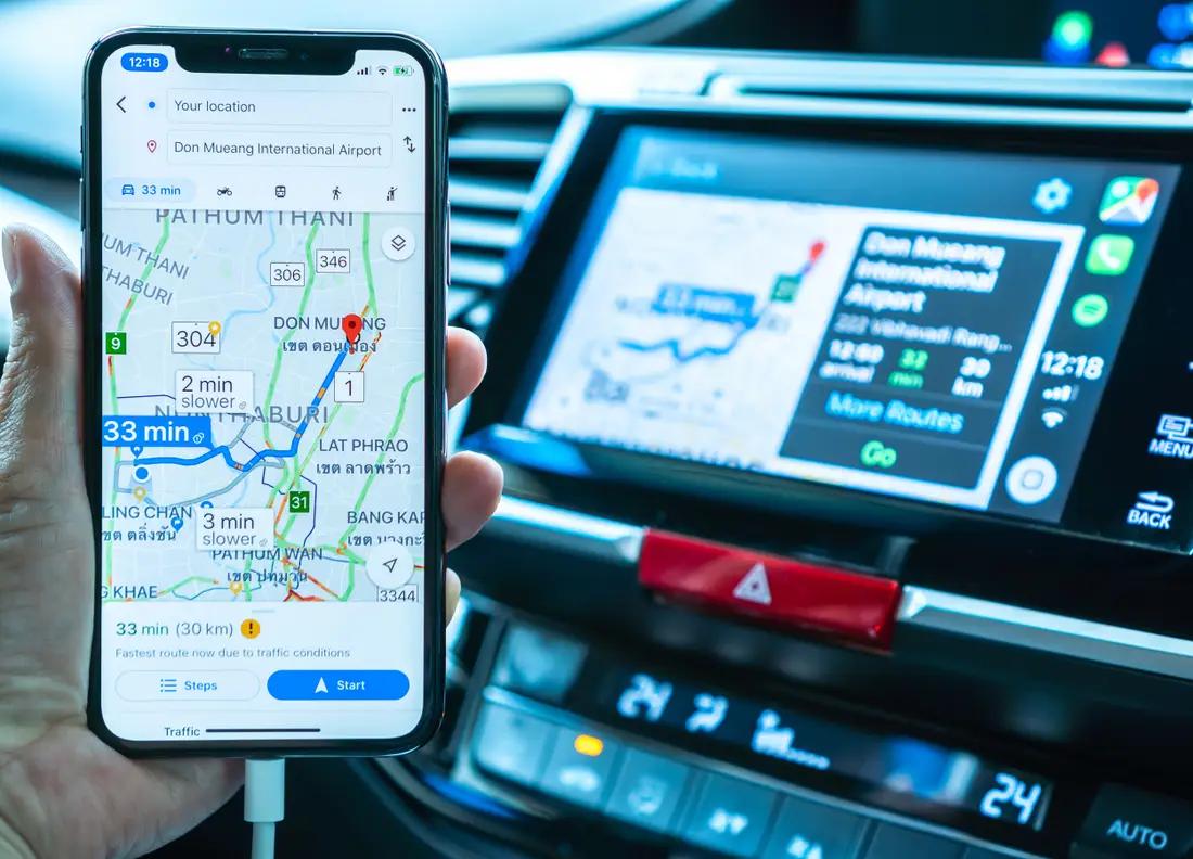 Android auto installé BMW image de voiture