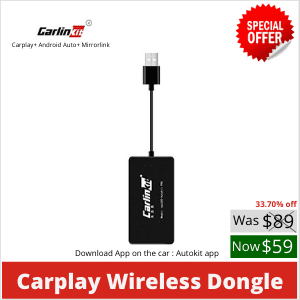 Carlinkit Wireless Smart Link Apple CarPlay Dongle without mic
