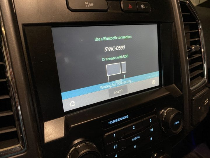Wireless CarPlay  display
