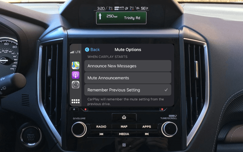 Announcing messages on carplay ios 15