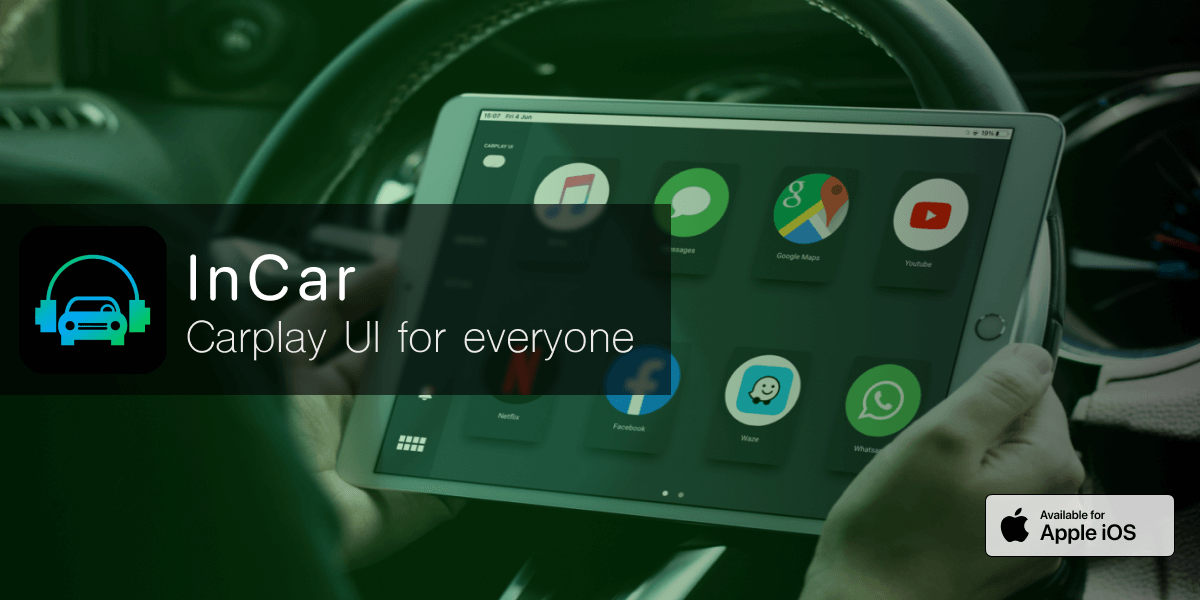 InCar - iPhone / iPad Carplay Alternative