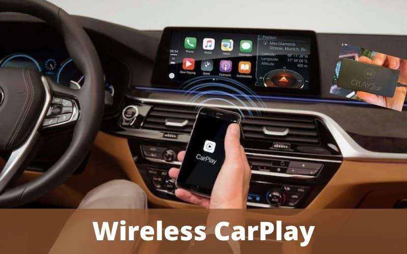 apple carplay - wireless carplay
