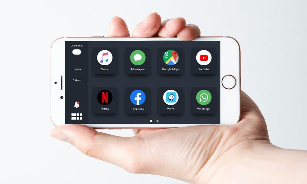 InCar iOS CarPlay alternative app