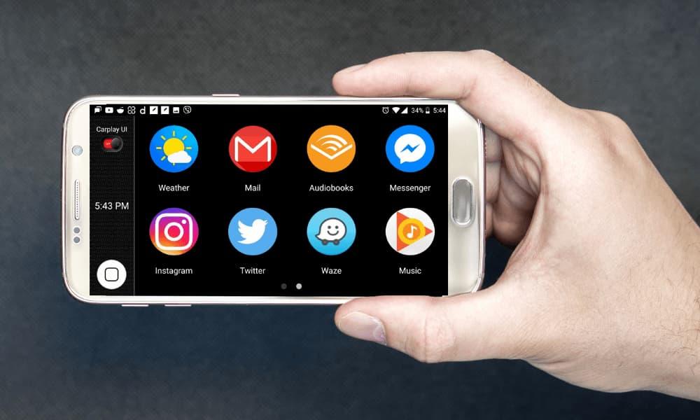 incar carplay for android app