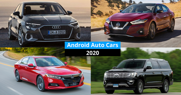 Android Auto Cars 2021