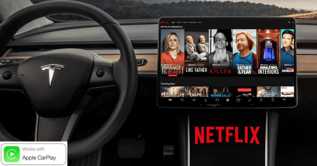 CarPlay Netflix : Watch Movies, TV Series and Drama in car